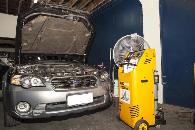 Access Auto electrics air conditioning regas