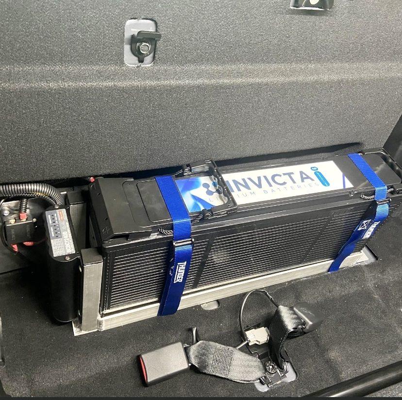 Invicta lithium battery installation